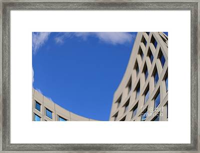 Distorted Reality 3 Framed Print by Eva Maria Nova