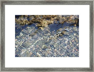 Distortion - Clear Waters Framed Print