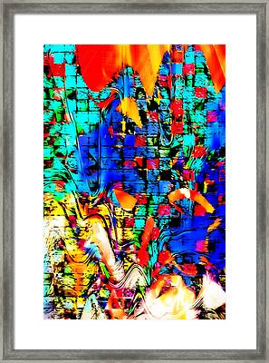 Distortion Framed Print by Tom Gowanlock