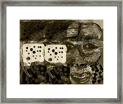 Distraction Central Framed Print by James Thomas