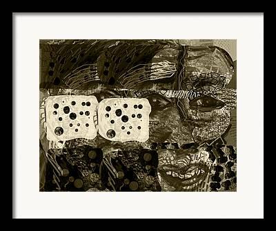 Concern Digital Art Framed Prints
