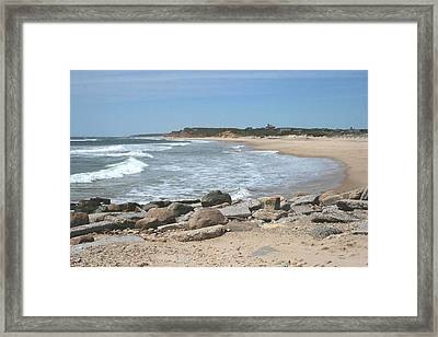 Ditch Plains Framed Print