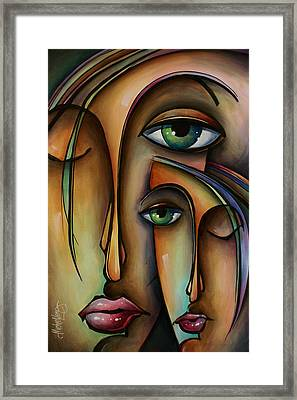Ditto Framed Print by Michael Lang