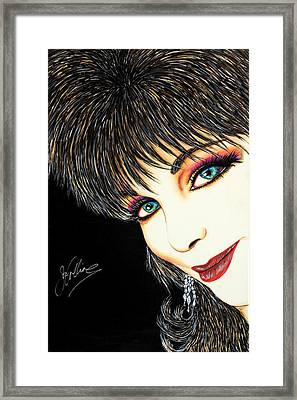 Diva Nasty Framed Print by Joseph Lawrence Vasile