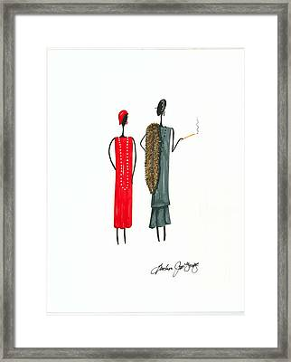Divalicious Framed Print by Bee Jay