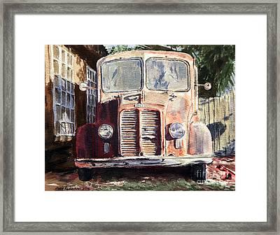 Divco Truck Framed Print