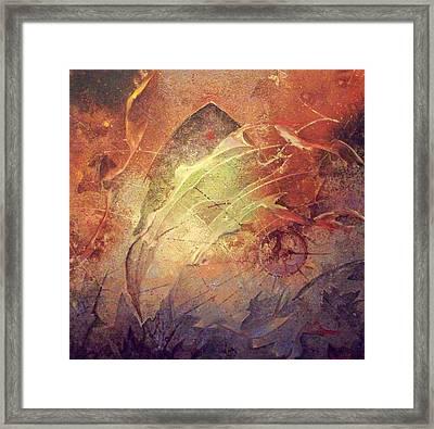 Dive Framed Print by Fred Wellner