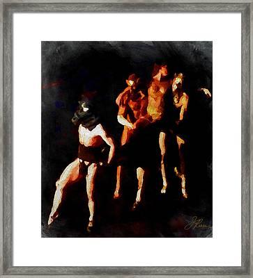 Deliverance   Framed Print by Joan Reese
