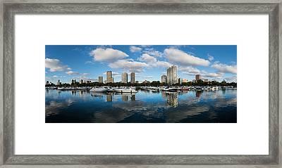 Diversey Harbor Chicago Framed Print