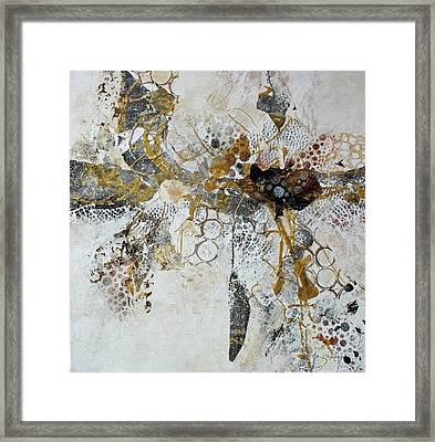 Framed Print featuring the painting Diversity by Joanne Smoley