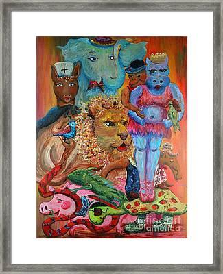 Diversity Framed Print by Nadine Rippelmeyer
