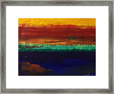Framed Print featuring the painting Divertimento by Norma Duch