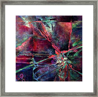 Divided Framed Print