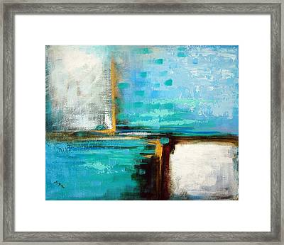 Framed Print featuring the painting Divided Loyalties by Suzanne McKee