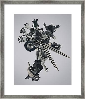 Divided We Fall Framed Print by Joe Castro