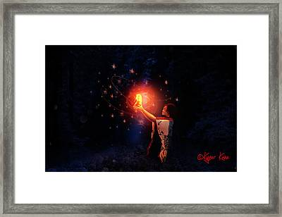 Divination Framed Print