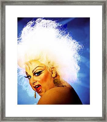 Divine 3 Framed Print by Tony Rubino