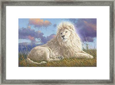 Divine Beauty Framed Print by Lucie Bilodeau