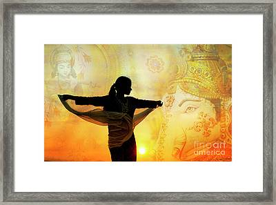 Framed Print featuring the photograph Divine Dance by Tim Gainey