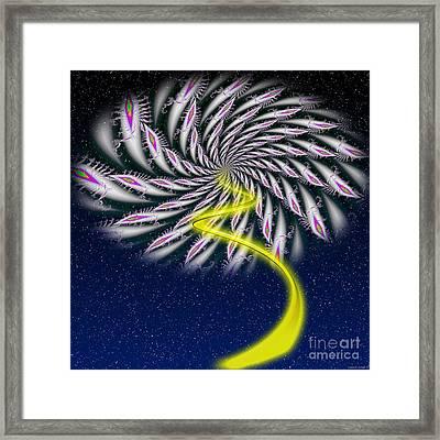 Divine Fireworks Framed Print by Ganesh Barad