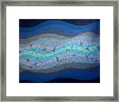 Divine Flow Framed Print