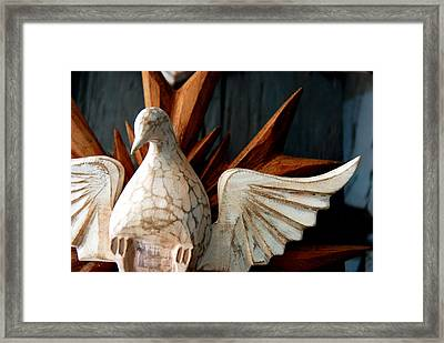 Divine Holy Ghost Framed Print