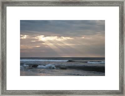 Divine Intervention Framed Print by Bill Cannon