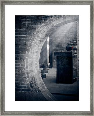 Divine Light Framed Print by Loriental Photography