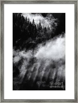 Divine Light Framed Print