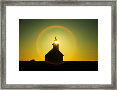 Divine Light Framed Print