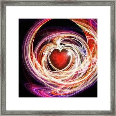 Divine Love Framed Print