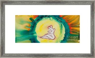 Divine Love Series No. 2086 Framed Print by Ilisa Millermoon