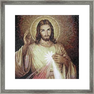 Divine Mercy 3 Framed Print