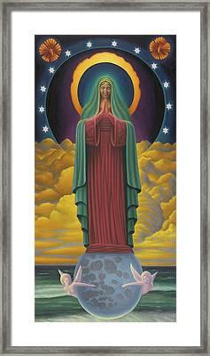 Divine Mother Framed Print