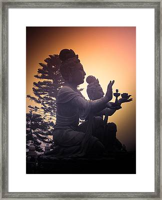 Divine Offering #01 Framed Print by Loriental Photography