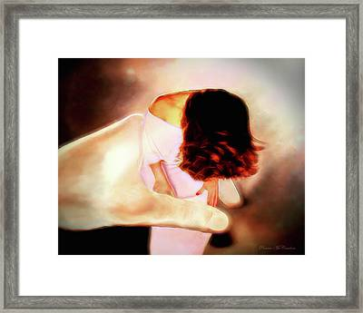 Divine Protection Framed Print by Pennie  McCracken