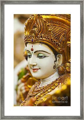 Divine Saraswati Framed Print