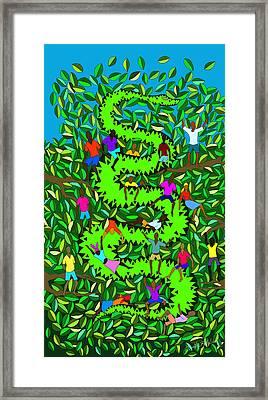 Divine Serpent Framed Print