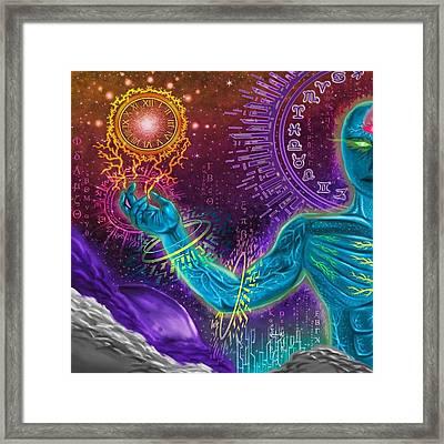 Divine Spirit Framed Print by Juan Carlos Valenzuela