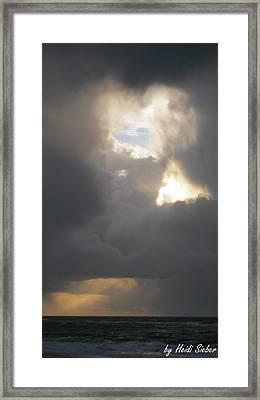 Divine Symbols Framed Print by Heidi Sieber