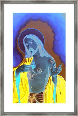 Divineink Framed Print by Matthew Lake