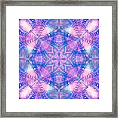 Divinely Encircled Framed Print