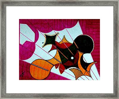 Diving Birds Framed Print by Willie McNeal