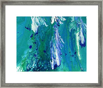 Diving To The Depths Framed Print