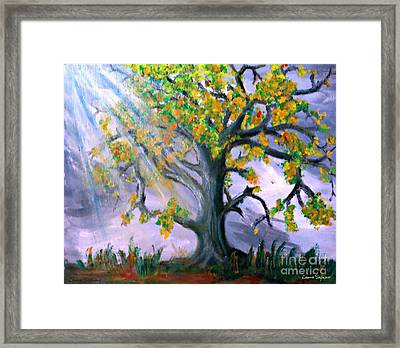 Divinity Inspired 1 Framed Print by Leanne Seymour