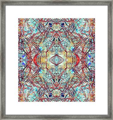 Divinity Of Now Framed Print