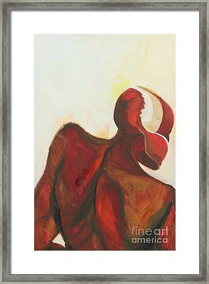 Division Framed Print by Daun Soden-Greene
