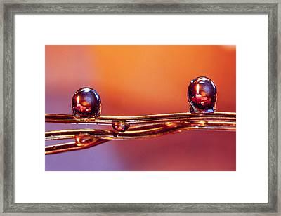 Diwali Candle Framed Print by Rohan Sandhir