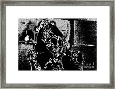 Framed Print featuring the photograph Dixie In Stars by Xn Tyler
