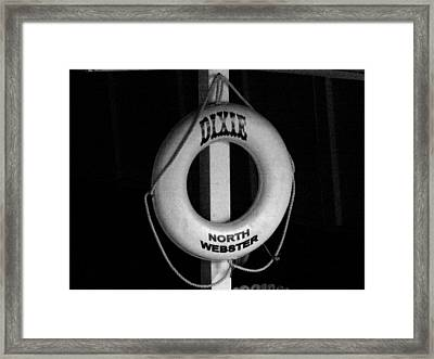 Dixie North Webster Framed Print